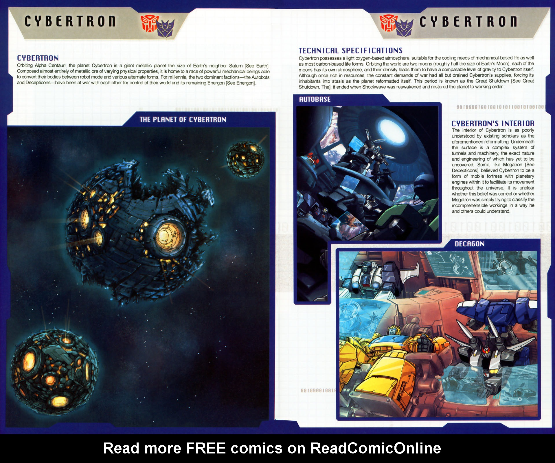 Read online Transformers: More than Meets the Eye comic -  Issue #8 - 11