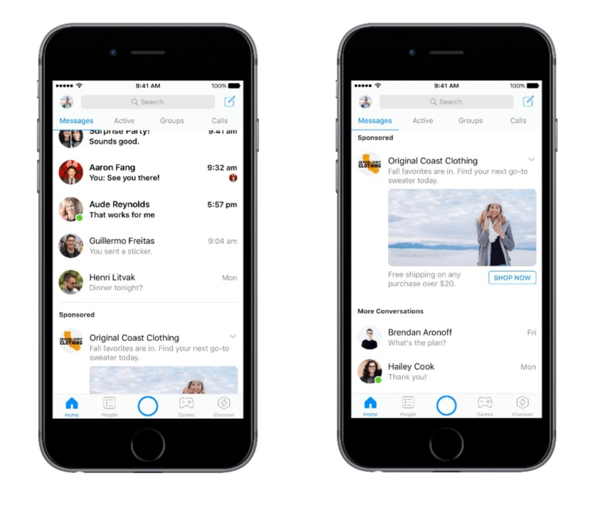 Download Latest Facebook Messenger – Text and Video Chat