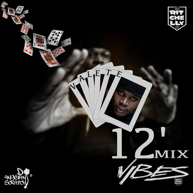 """V12 VALETE 12MIN.MIX"" é a nova mixtape do rapper Valete"