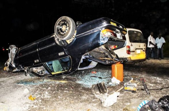 TRAGIC | 1 Dead, 3 Injured in Ghastly Accident in Lagos