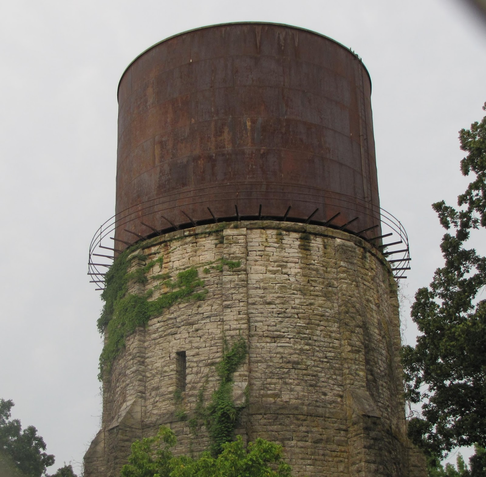 Old Water Tower in Florence, Alabama