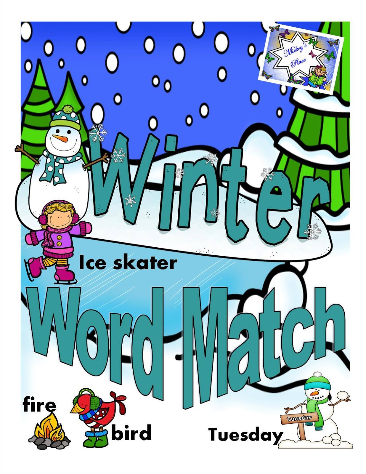 Winter Picture Match