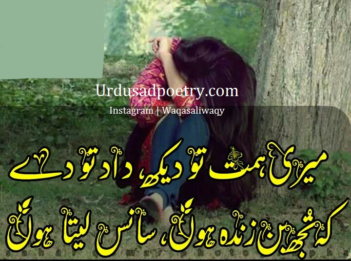 Meri Himmat To Dekh Daad To De - Urdu Sad Poetry