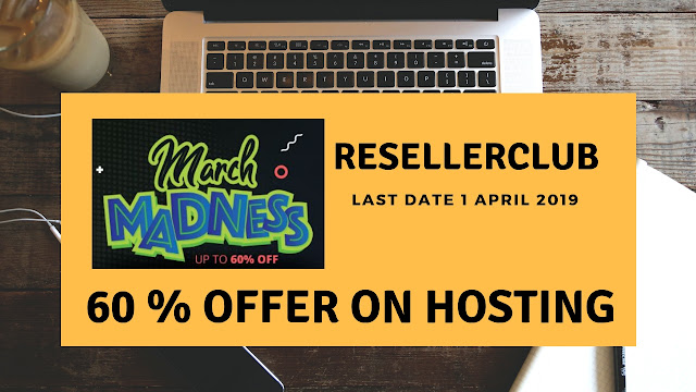 GET 55 % offer on Web Hosting on Resellerclub