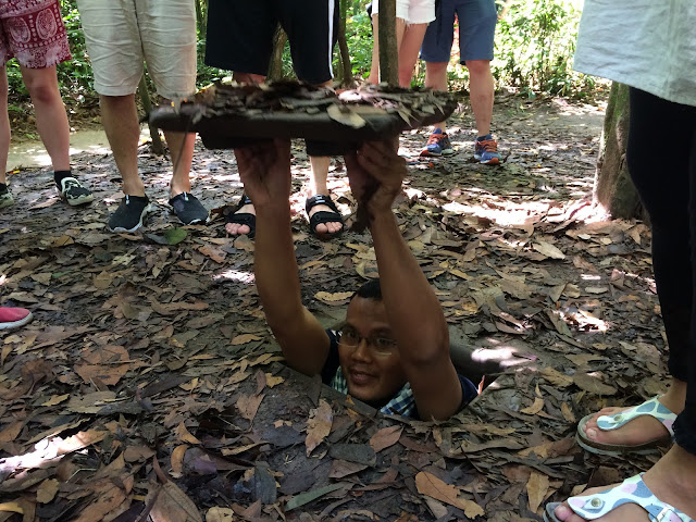 Firman In Action - Chu Chi Tunnels