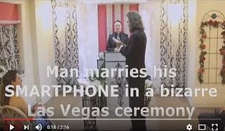 Man Who Got Married To His Smartphone In Las Vegas