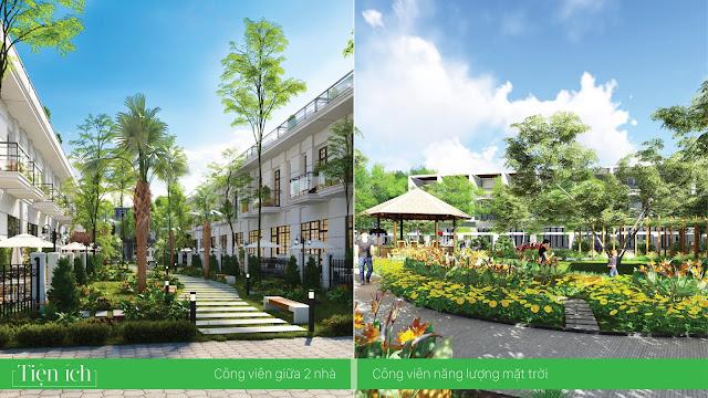 Không gian xanh Lakeside Palace