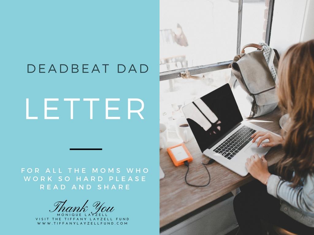 Deadbeat Dad Letter | Pearls & Coffee Lets Talk