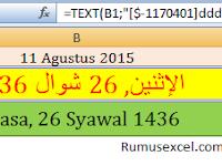 Cara Konversi Kalender Masehi ke Hijriah dengan Excel