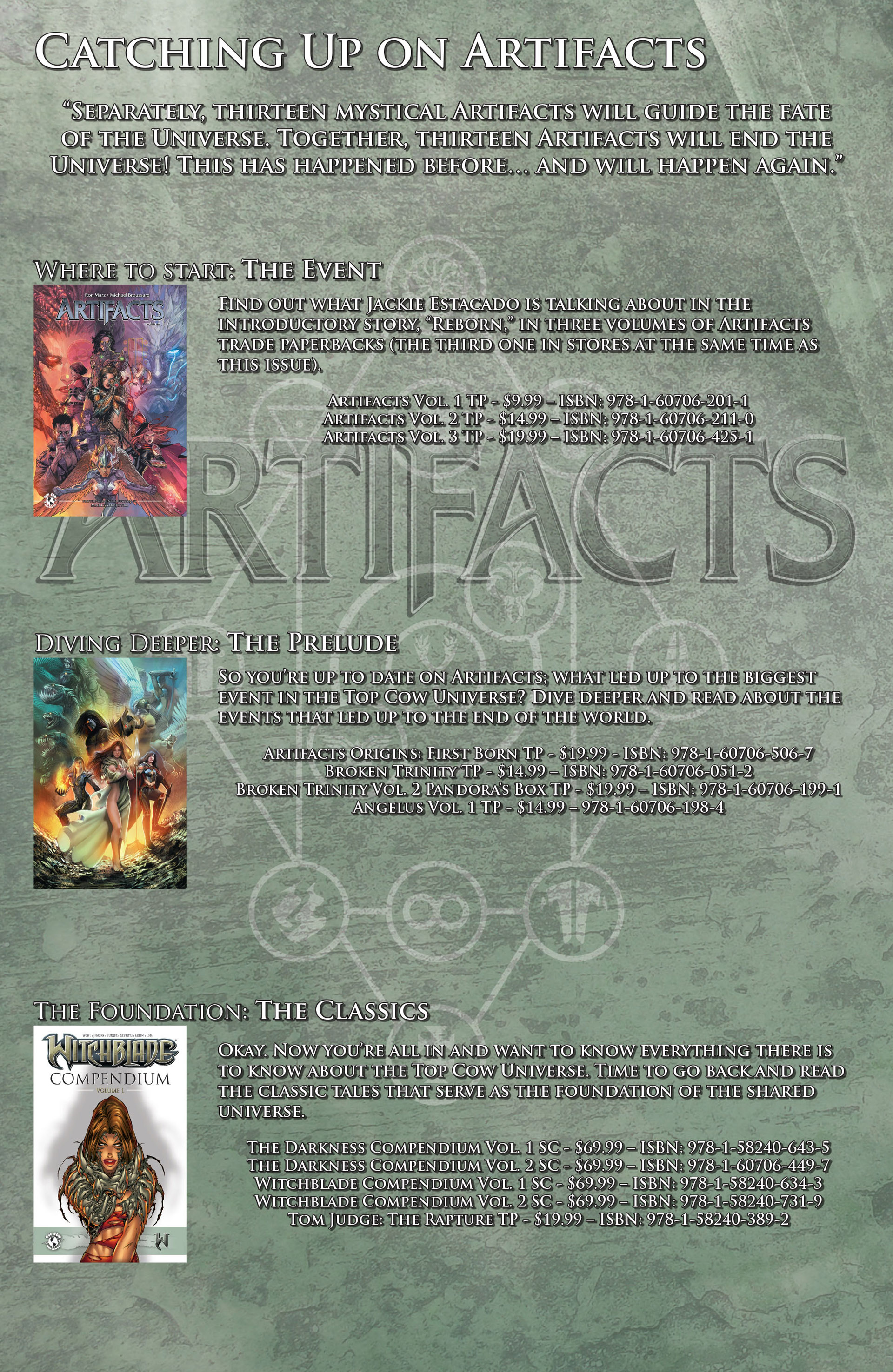 Read online Artifacts comic -  Issue #14 - 28