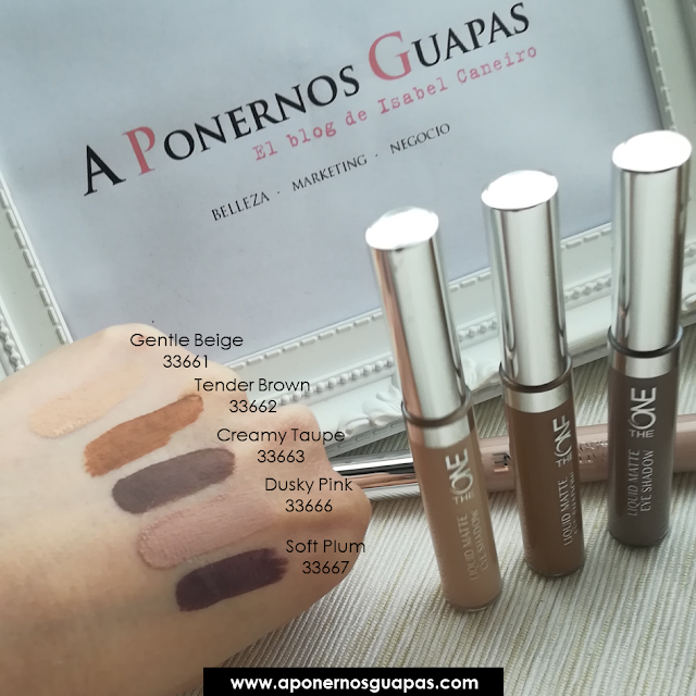 swatch sombras liquid mate the one
