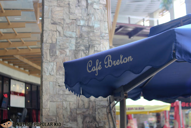 Cafe Breton in Greenbelt Makati