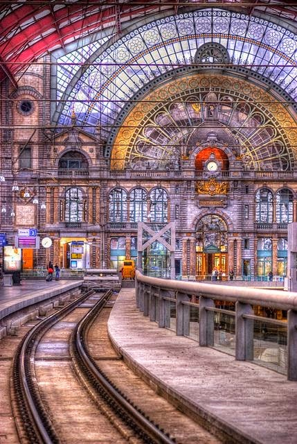 10 Best Places to Holiday in Belgium (100+ Photos) | Central Station. Antwerp, Belgium