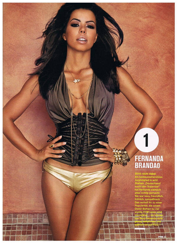 Latest Scans from FHM Magazine of Sexy Celebrities