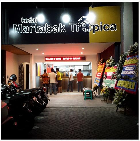 Martabak Enak di Bandung