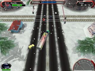 لعبة Mad Truckers لقيادة الشاحنات الطائشة