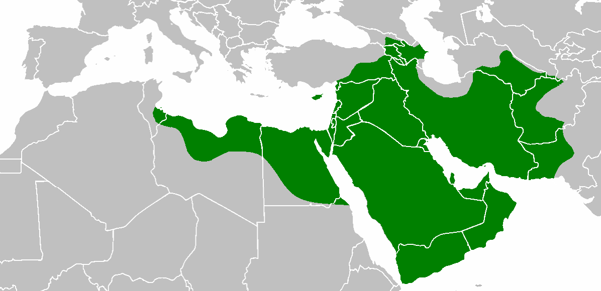Orthodox Christian Initiative for Africa: Early Muslim ... on early muslim world map, spanish conquest of mexico map, al-andalus map, arab islamic conquest map, early muslim travel map, early muslim history map,