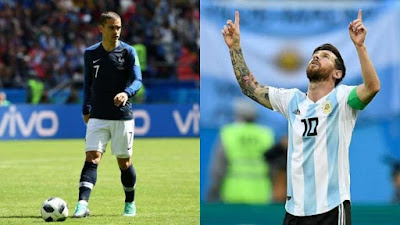 Comment regarder France contre Argentine en Direct en Streaming