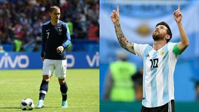 Comment regarder France contre Argentine en Direct en Streaming