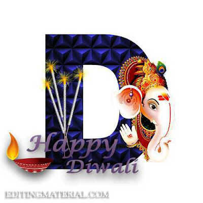 D name image diwali wish