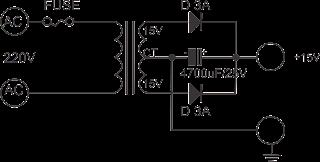 Membuat Adaptor Untuk Charger Accu Mobil Mengunakan Trafo 3 A