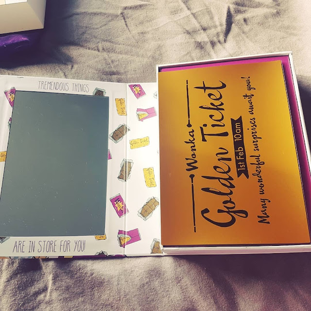 Story Book Cosmetics Charlie and The Chocolate Factory Palette