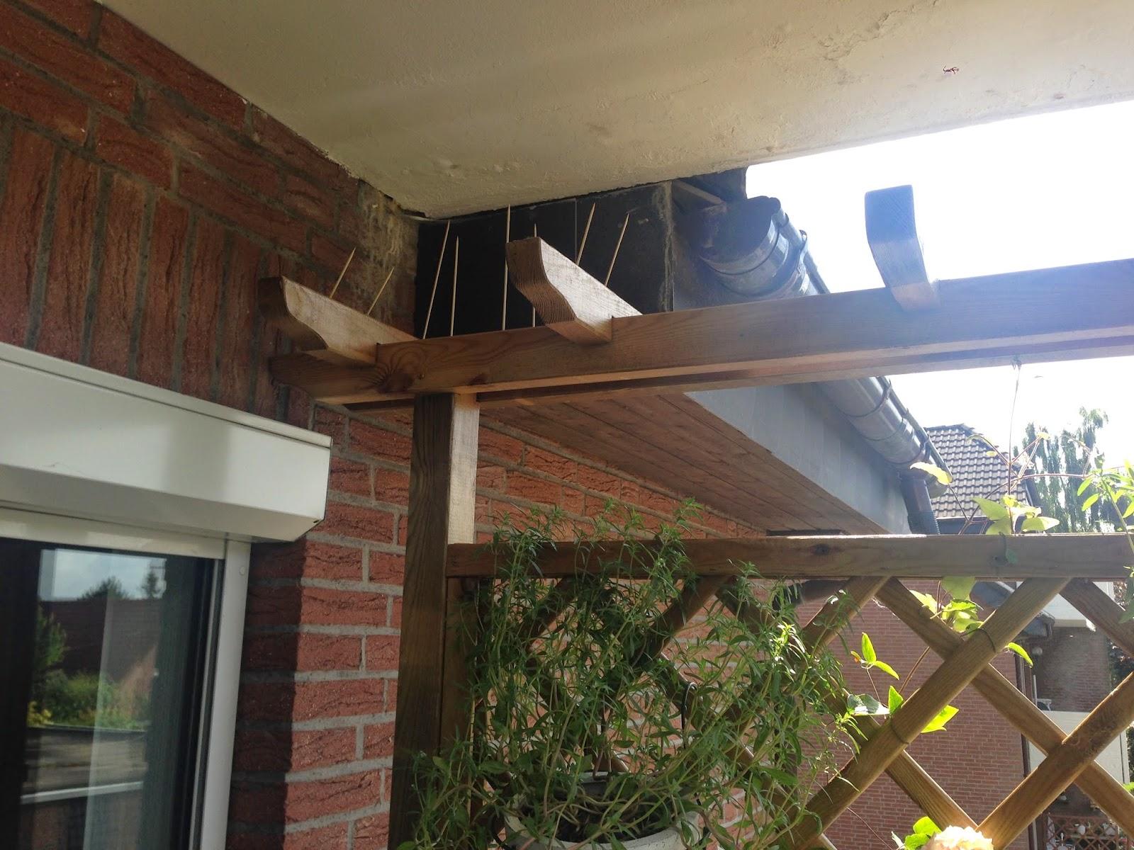 tessimo 39 s balkongeschichten tauben nachhaltig vom balkon fern halten. Black Bedroom Furniture Sets. Home Design Ideas