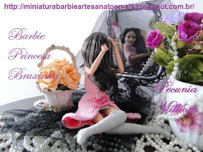 Barbie roupa de crochê por Pecunia Milliom