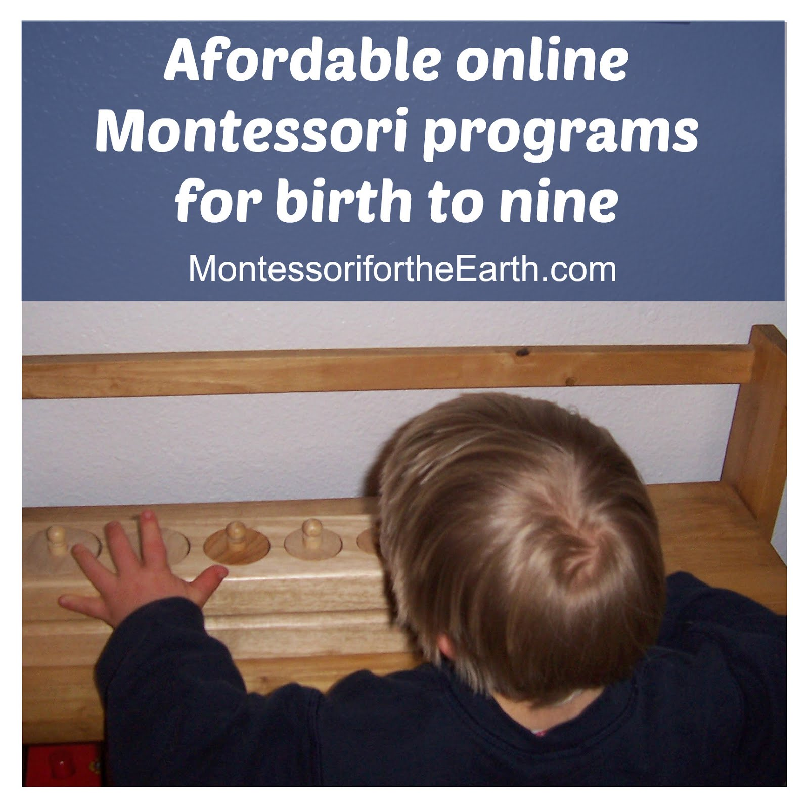 My affordable Montessori!
