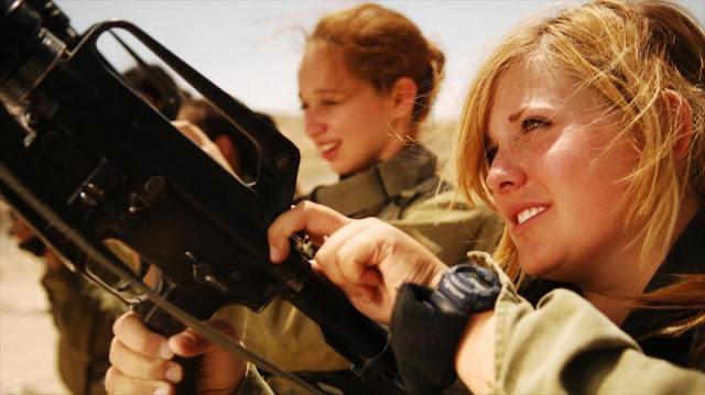 Israel encarga a mujeres soldados a espiar a Gaza con drones