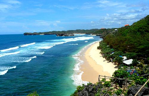 Gunung Kidul beaches of Yogyakarta