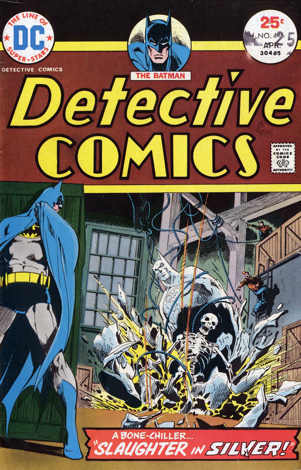 Detective Comics (1937) 446 Page 1