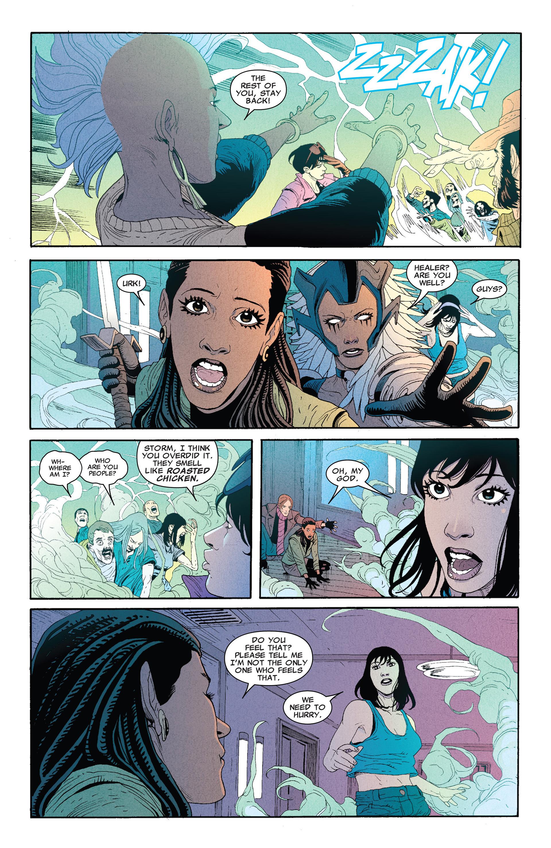 Read online Astonishing X-Men (2004) comic -  Issue #66 - 15