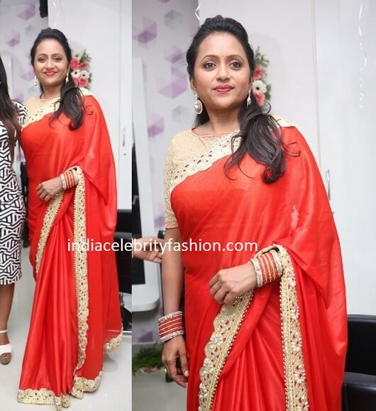 Anchor Suma Kanakala in a Saree