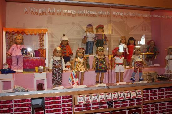 Loja de brinquedos American Girl Place em Los Angeles