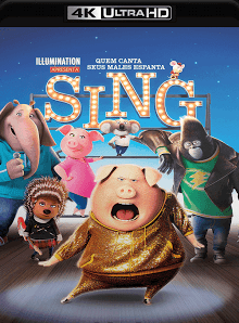 Sing – Quem Canta Seus Males Espanta 2017 Torrent Download – BluRay 4K 2160p 5.1 Dual Áudio