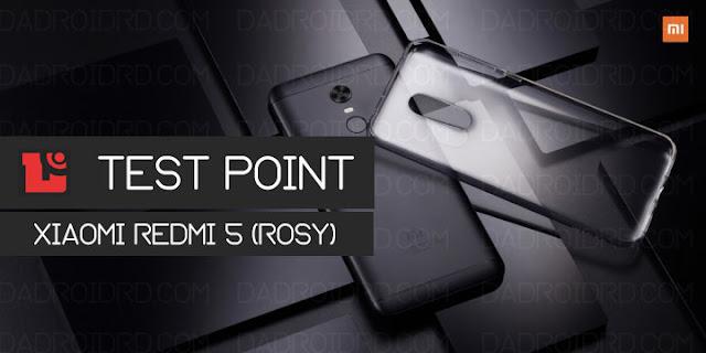 Disinilah Letak Test Point Pada Xiaomi Redmi 5 (Rosy) 2