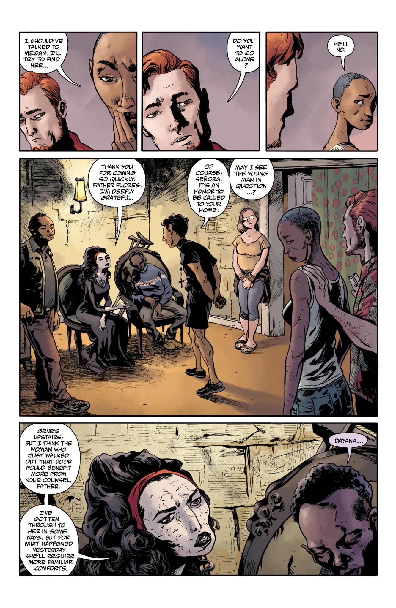 Read online Abe Sapien comic -  Issue #20 - 17