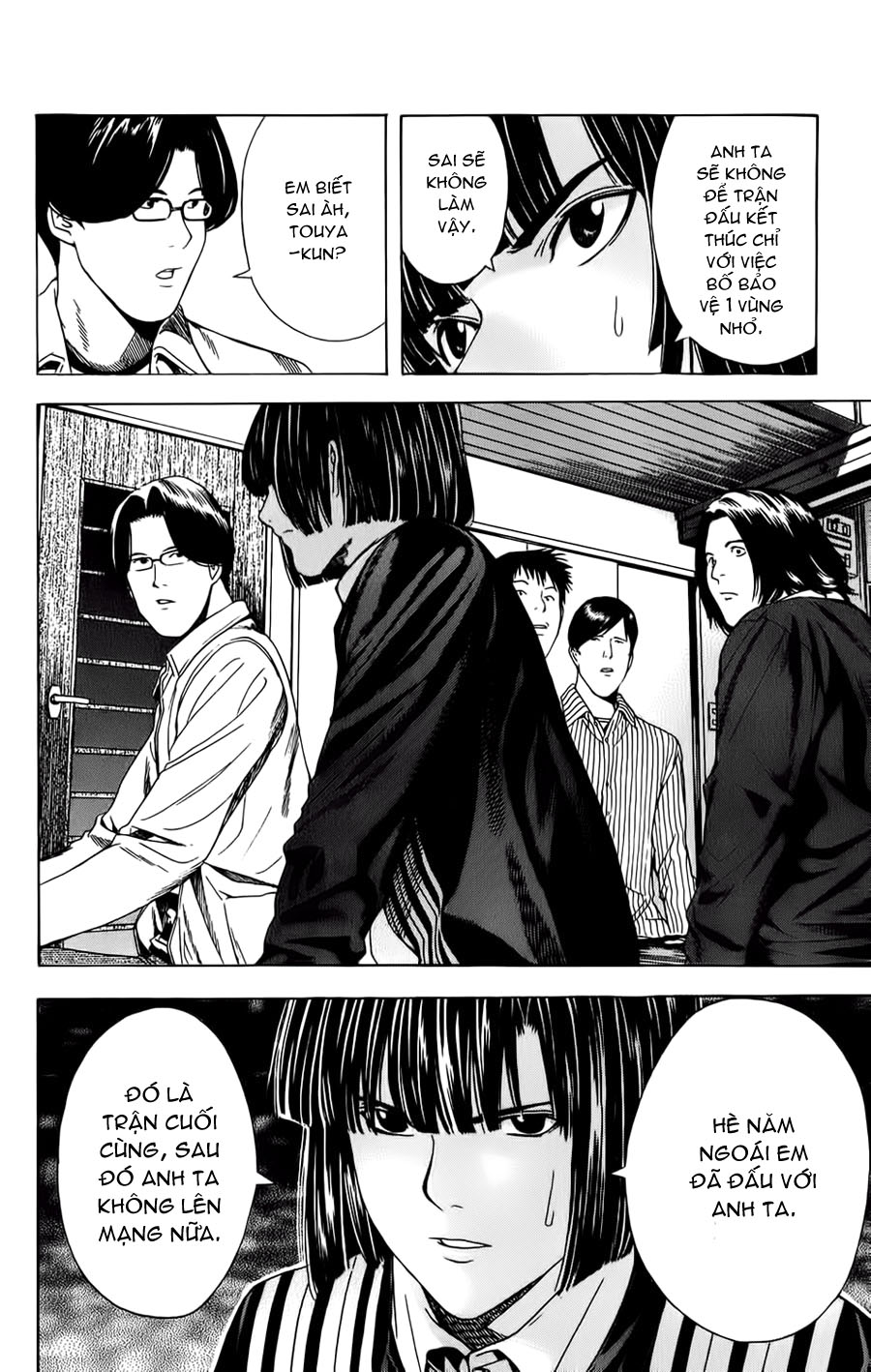 Hikaru No Go hikaru no go chap 114 trang 19