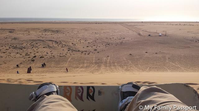 surf dunas namibia con niños