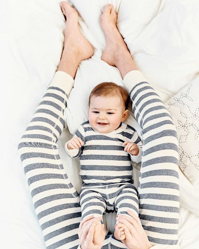 matchy tendencia coordinada vestir iguales madre hijo hija