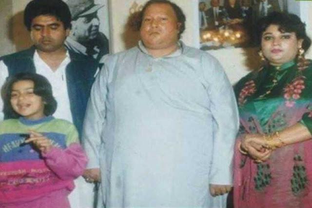Nusarat Fateh Ali khan family