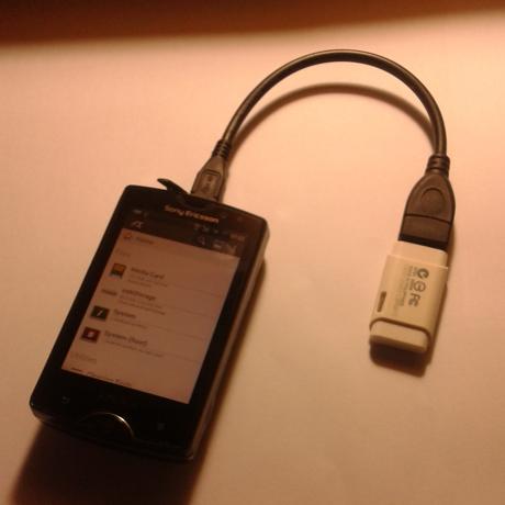 Membuka USB Flashdisk di Android