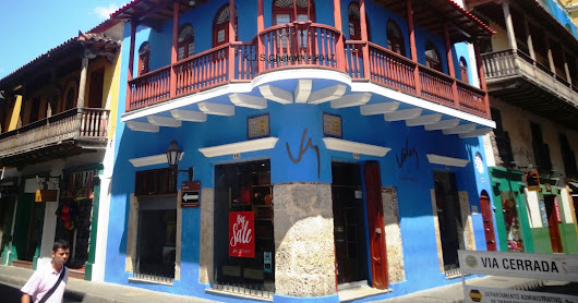 'Cool balconies of Cartagena des Indias, Colombia- a curtain raiser' - by K.J.S.Chatrath