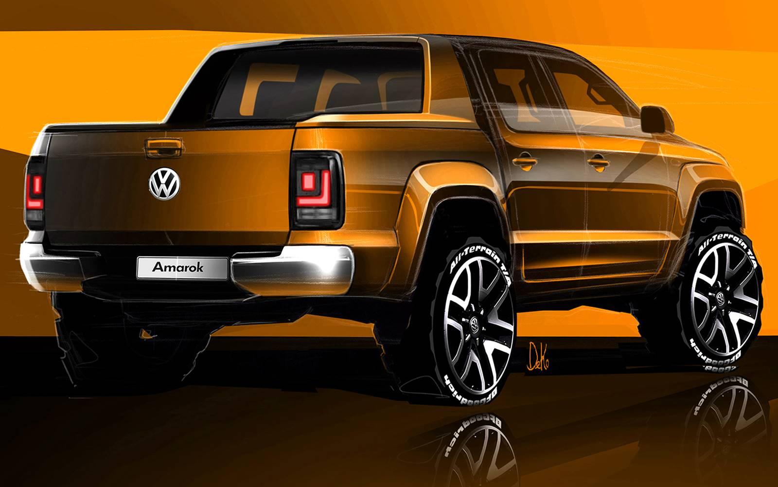 vw amarok 2017 novo interior e motor audi v6 3 0 diesel car blog br. Black Bedroom Furniture Sets. Home Design Ideas