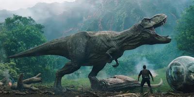 El Tyrannosaurus rex de Jurassic World El reino caído