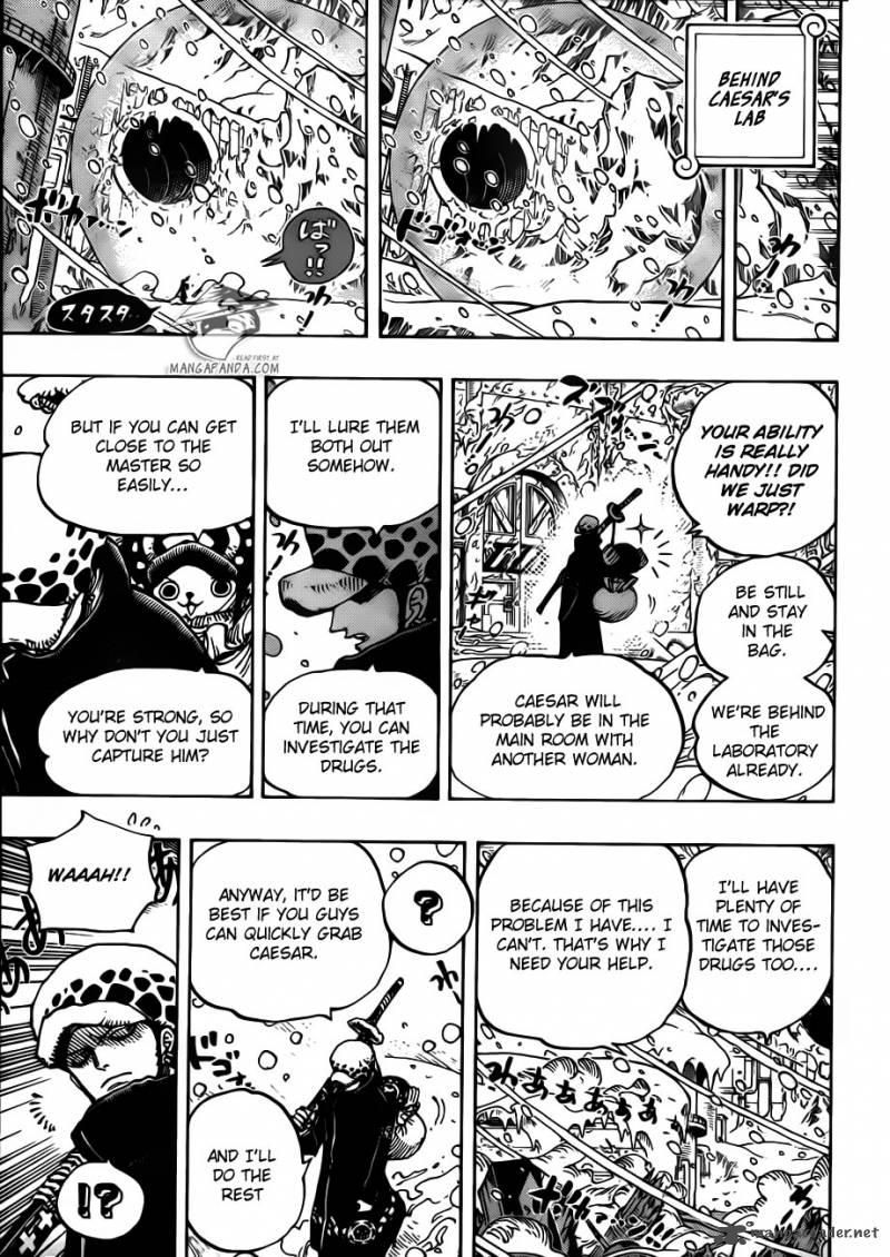 One Piece 669 : Begin Strategy