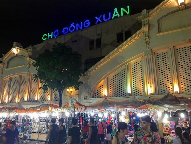 The most attractive destination of Hanoi night