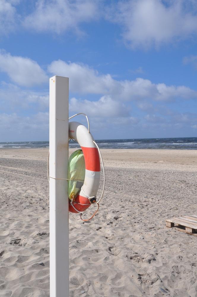 Rettungsring-Strand-Beach