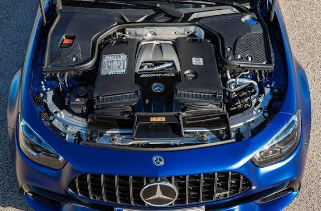 2021 mercedes e63 s engine